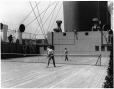 MP-0000.3.12 | Tennis on board ship, about 1930 | Photograph | Anonyme - Anonymous |  |