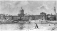 MP-0000.10.166 | Bonsecours Market and wharves, Montreal, QC, about 1870 | Photograph | Alexander Henderson |  |