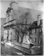 MP-0000.10.44   Recollet Church, Notre Dame Street, Montreal, QC, about 1865   Photograph   Antoine Bazinet     