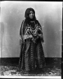 MP-0000.14.173 | Cocona Sinipawksoyissi Otokeman, Sarcee woman, near Calgary, AB, about 1885 | Photograph | William Hanson Boorne |  |