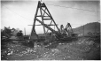 MP-0000.32.22 | Structure, mine d'ardoise de New Rockland, près de Kingsbury, QC, vers 1900 | Photographie | Ferrier |  |
