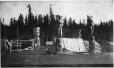 MP-0000.49.1 | Salish graves, Comox, Vancouver Island, BC, probably 1887 | Photograph | Hannah H. Maynard |  |