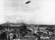MP-0000.66.4 | R-100 dirigible over Montreal, QC, 1930 | Photograph | Anonyme - Anonymous |  |