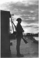 MP-0000.72.2 | Soldier of the Victoria Rifles, guarding the Lachine Canal, Montreal, QC, 1939 | Photograph | Anonyme - Anonymous |  |