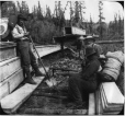 MP-0000.103.44 | Making sluice boxes, new claim, Hunker's Creek, YT, 1898 | Photograph | Edwin Tappan Adney |  |