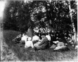 MP-0000.117.85 | The picnic, Shelburne, New Hampshire, 1892 | Photograph | David Pearce Penhallow |  |