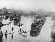 MP-0000.236.2 | Flood, Bonaventure Depot, Montreal, QC, 1886 | Photograph | George Charles Arless |  |
