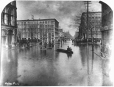 MP-0000.236.5 | Flood at Victoria Square, Montreal, about 1886 | Photograph | George Charles Arless |  |