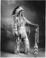 MP-0000.328.8 | Hereditary son of Chief Duck, Blackfoot, Calgary, AB, about 1925 | Photograph | H. Pollard |  |