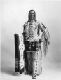 MP-0000.328.10 | Chief High Eagle, Blackfoot, Calgary, AB, about 1925 | Photograph | H. Pollard |  |