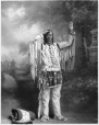 MP-0000.328.11 | Chief High Eagle, Blackfoot, Calgary, AB, about 1925 | Photograph | H. Pollard |  |