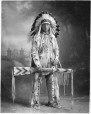 MP-0000.328.14 | Son of Chief Duck, Blackfoot, Calgary, AB, about 1925 | Photograph | H. Pollard |  |