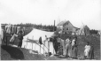 MP-0000.361.12 | Indian group & tent, Mingan, QC, 1920 | Photograph | George R. Lighthall |  |