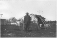 MP-0000.361.18 | Frame of tent and aboriginal Chief, Mingan, QC, 1920 | Photograph | George R. Lighthall |  |