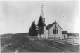 MP-0000.391.27 | Église, Moose Factory, Ont., vers 1875 | Photographie | Dr. William Bell Malloch |  |