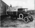 "MP-0000.587.17 | ""Clydesdale"" truck, Masson & Sons Fruit, Montreal, QC, about 1920 