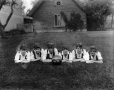 MP-0000.587.113 | Copy of a women's basketball team, champions 1914-15, Montreal(?), QC, 1915(?) | Photograph | Anonyme - Anonymous |  |