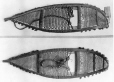 MP-0000.592.13 | Two Chippewayan snowshoes, about 1890 | Photograph | Percy Erskine Nobbs |  |