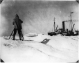 MP-0000.597.111 | Hudson's Bay Co's cinematographer filming ship, about 1919 | Photograph | Captain George E. Mack |  |