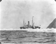 MP-0000.597.116 | Steamer in ice, open water in foreground, about 1919 | Photograph | Captain George E. Mack |  |