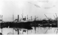 MP-0000.597.121 | Nascopie in harbour, construction of pier in background, Montreal (?), 1920-27 | Photograph | Captain George E. Mack |  |