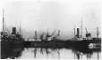 MP-0000.597.122 | Nascopie and other ships in harbour, Montreal (?), 1920-27 | Photograph | Captain George E. Mack |  |