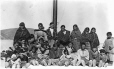 MP-0000.597.137 | Group of Inuit women and children, Fort Chimo (?), 1920-27 | Photograph | Captain George E. Mack |  |