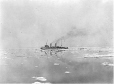 MP-0000.597.152 | Steamer with two funnels at a distance, 1910-27 | Photograph | Captain George E. Mack |  |