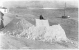 MP-0000.597.197 | Igloo under construction, 1910-27 | Photograph | Captain George E. Mack |  |