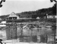 MP-0000.597.272 | Settlement on riverbank, about 1919 | Photograph | Captain George E. Mack |  |