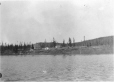 MP-0000.597.290 | Settlement on shore, building under construction, 1910-27 | Photograph | Captain George E. Mack |  |