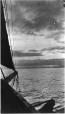 MP-0000.597.340 | View of horizon from sailing ship, 1921(?) | Photograph | Captain George E. Mack |  |