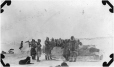 MP-0000.597.482 | Inuit group and loaded dogsled, 1917(?) | Photograph | Captain George E. Mack |  |
