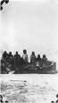 MP-0000.597.490 | Group of mostly Inuit people and loaded sled, 1910-20 | Photograph | Captain George E. Mack |  |