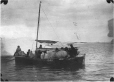 MP-0000.597.515 | Inuit group in sailboat, 1910-27 | Photograph | Captain George E. Mack |  |