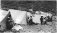 MP-0000.597.523 | Inuit group and canvas tents, summer, 1910-27 | Photograph | Captain George E. Mack |  |