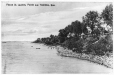 MP-0000.906.6 | Fleuve Saint-Laurent, Pointe-aux-Trembles, QC, vers 1910 | Impression | Anonyme - Anonymous |  |