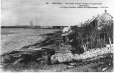 MP-0000.932.5 | View of houses on waterfront at Kahnawake, QC, about 1907 | Print | Neurdein Frères |  |