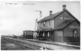 MP-0000.1014.2 | G. T. R. Station, St. Bazile, QC, about 1910 | Print | Anonyme - Anonymous |  |