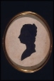 M252 | Silhouette of Mrs. Edward Wolfe | Painting | Anonyme - Anonymous |  |