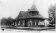 MP-0000.1050.5 | Grand Trunk Station, Acton Vale, QC, about 1910 | Print | Anonyme - Anonymous |  |