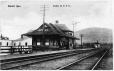 MP-0000.1021.16 | G. T. R. Station, Beloeil, QC, about 1910 | Print | Anonyme - Anonymous |  |