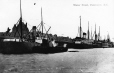 MP-0000.1317.4 | Steamships in Vancouver harbour, BC, about 1910 | Print | Anonyme - Anonymous |  |
