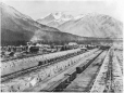 MP-0000.1342.1 | Crow's Nest Pass Coal Company's Coke Ovens at Fernie, BC, about 1910 | Print | Anonyme - Anonymous |  |