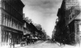 MP-0000.1452.29 | St. James Street, looking east from Victoria Square, Montreal, QC, about 1870 | Photograph | Alexander Henderson |  |