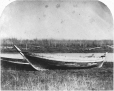 MP-0000.1453.4 | Freighter's boat on the banks of the Red River, MB, 1858 | Photograph | Humphrey Lloyd Hime |  |