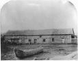 MP-0000.1453.14 | Magasin McDermot, près de Fort Garry, rivière Rouge, Man., 1858 | Photographie | Humphrey Lloyd Hime |  |