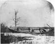 MP-0000.1453.32 | Red River freighter's boat, MB, 1858 | Photograph | Humphrey Lloyd Hime |  |