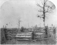 MP-0000.1453.20 | Aboriginal graves, covered with split sticks, MB, 1858 | Photograph | Humphrey Lloyd Hime |  |