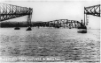 MP-0000.1727.5 | Collapse of centre span, Quebec Bridge, Quebec City, QC, 1916 | Photograph | Chesterfield & McLaren |  |